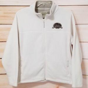 Cabela's White Fleece 50th Anniversary Jacket 2XL